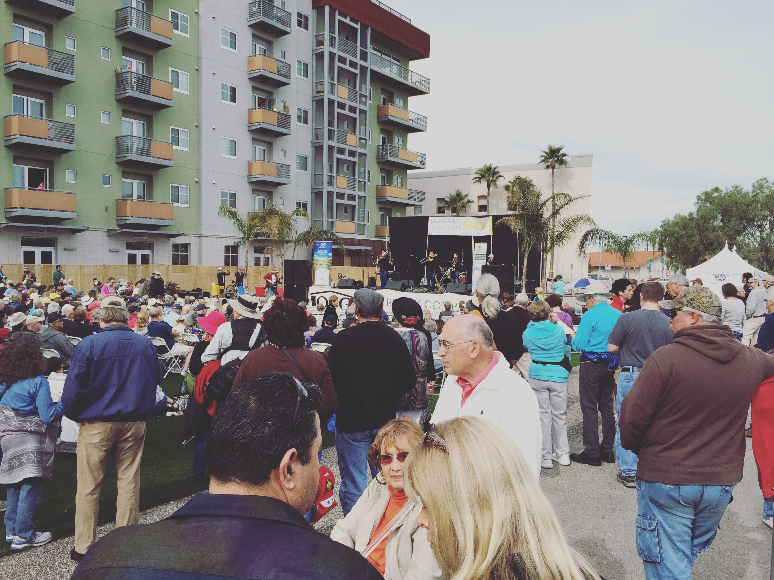 Tucson Jazz Festival 2016 - MLK Stage