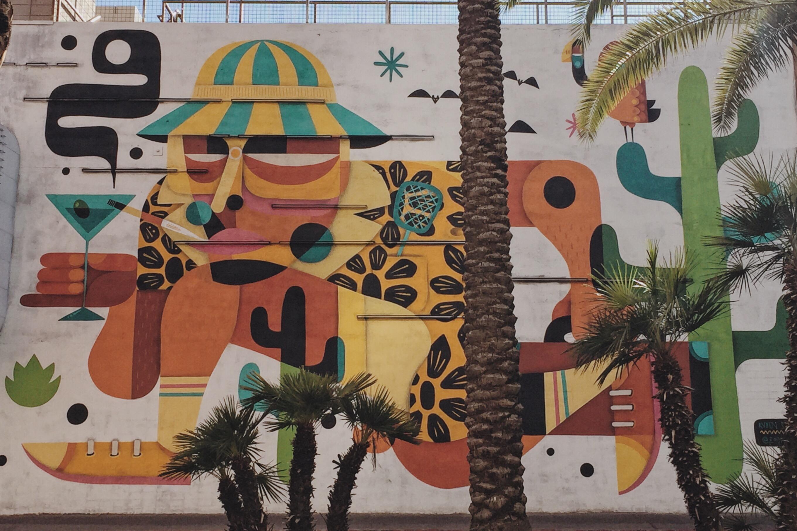 Hunter S. Thompson Mural  Near Fremont Street