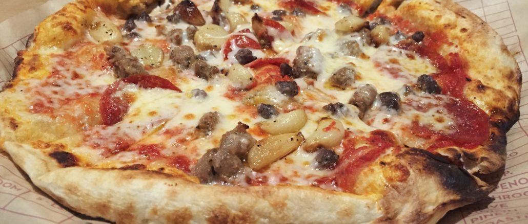 MOD Pizza - Pepperoni, Sausage, Roasted Garlic