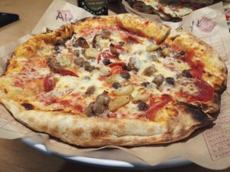 MOD Pizza - Pepperoni, Sausage, Roasted Garlic