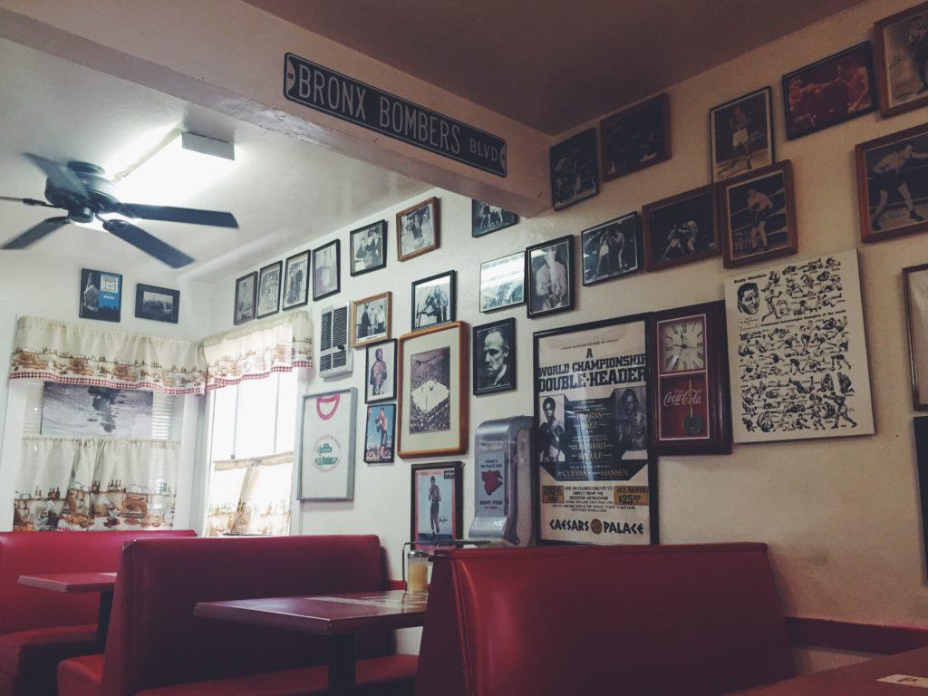 Bronx Pizza Interior