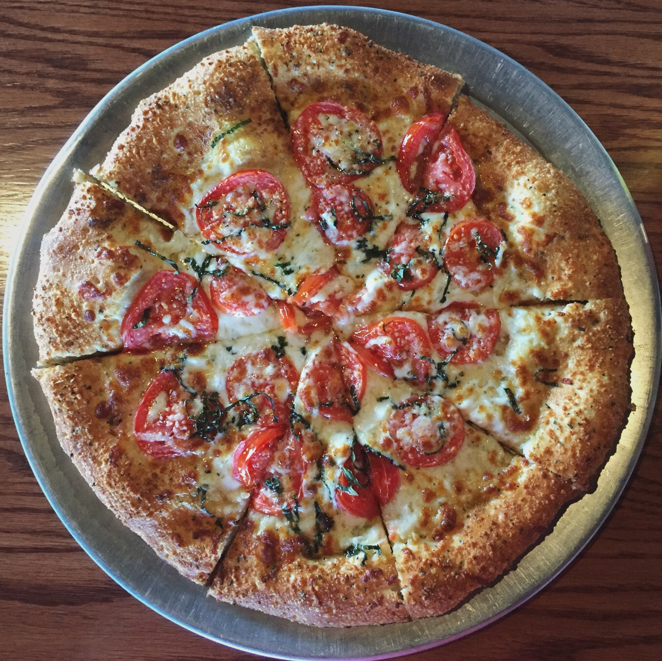 Full Home Plate Pizza