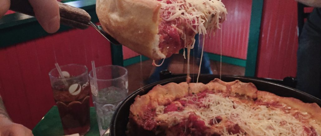 Oregano's Pan Pizza