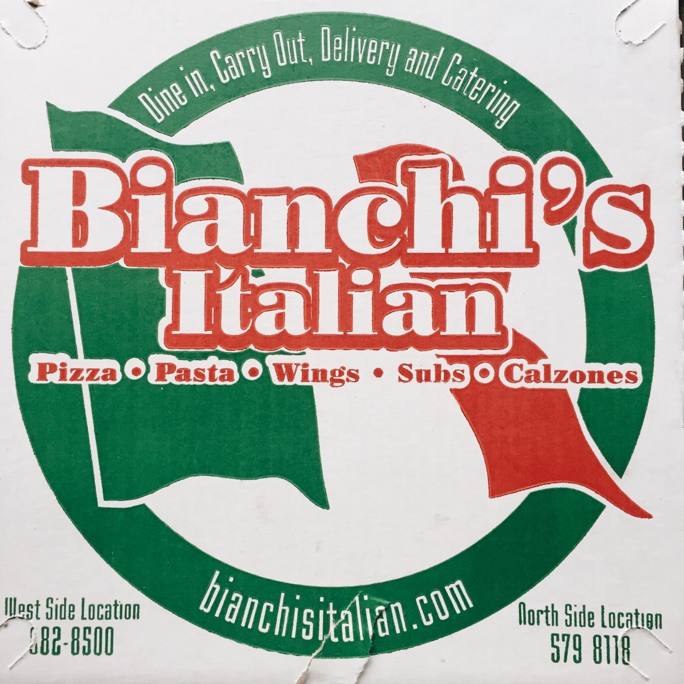 Bianchi's Italian Pizza Box